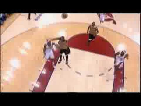 Daniel Gibson to LeBron James alley oop Video