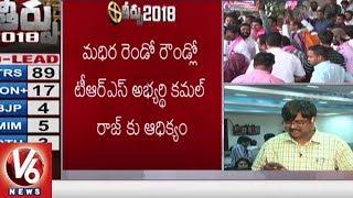 CM KCR Lead In Gajwel Constituency - Telangana Assembly Election Results 2018  - netivaarthalu.com