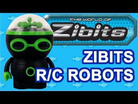 Zibits Toys Micro R/C Robots 2011 Toy Fair Preview