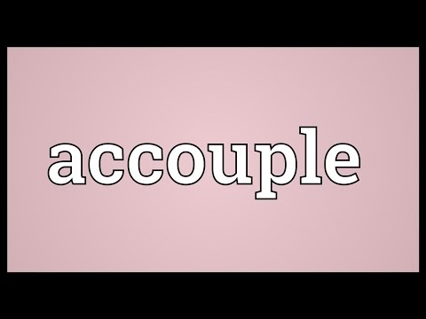 Header of accouple