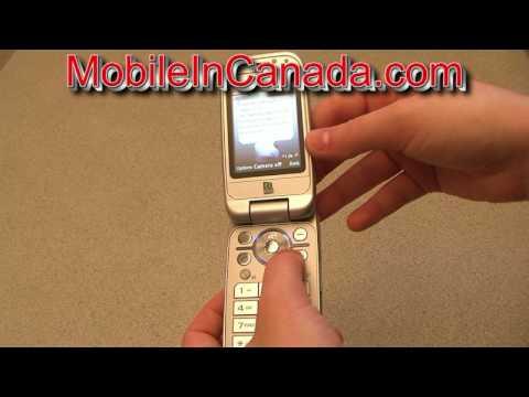 The Sony Ericsson Z750i of Fido ( www.MobileInCanada.com )
