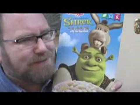 Shrek the Third Six FAIL Food Products Review by Mike Mozart of JeepersMedia Epic