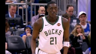 Sterling Brown , Ersan Ilyasova,  Tony Snell, George Hill Highlights vs Magic RS19G45 (19.01.19)