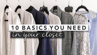 10 Basics You Need in Your Closet for a Capsule Wardrobe | by Erin Elizabeth
