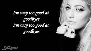 Sam Smith - Too Good At Goodbyes / Lyrics (Sofia Karlberg Cover)