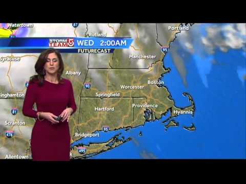 Cooler Tuesday: Cindy's Boston-area forecast