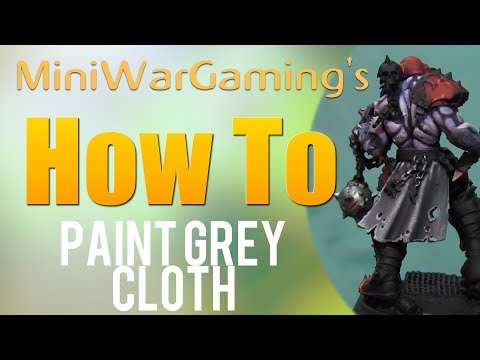 How To: Paint Grey Cloth