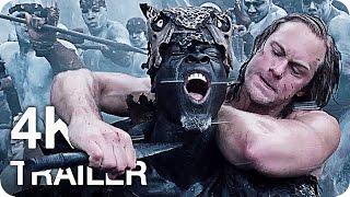 THE LEGEND OF TARZAN Movie Trailer 1 & 2 4K UHD (2016)