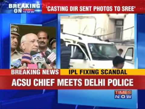 IPL Spot-fixing: Ravi Sawani meets Delhi police officials