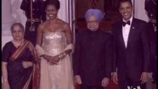 2009-11-25 美国之音新闻:白宫国宴庆祝美印友谊