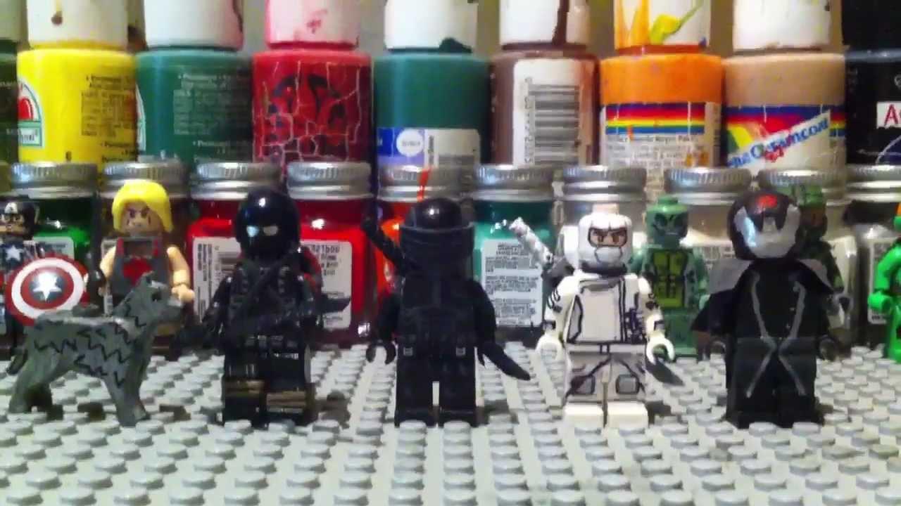 Naked GI Joe and Lego Man - YouTube