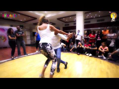 Fadi Fussion & Bersy Cortez Bachata Dance Workshop Demo | 1.EIDC