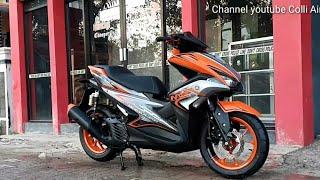 Aerox 155cc di Hantam Doff 8200