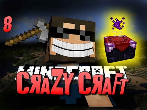 Minecraft CRAZY CRAFT 8 - DRAGON ESSENCE OP(Minecraft Mod Survival)