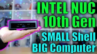 2020 Intel NUC! 10th Gen Core i3 for Streaming and Gaming!