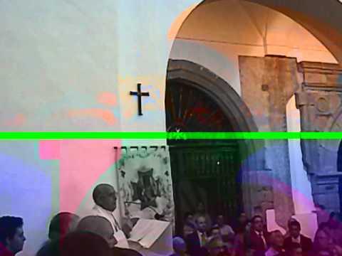 Palabras de Longinos ante la Virgen del Rosario después de la Procesión, 7 de octubre de 2012