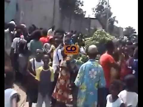 Kinshasa un Kuluna Tabasé à Mort par la Population - Emission Congolaise