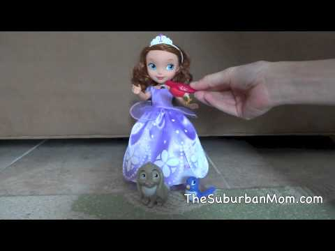 Talking Sofia The First and Animal Friends Doll Demo & Review
