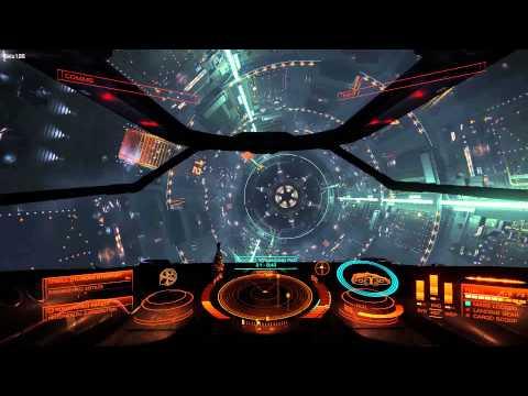 Elite Dangerous Beta: Hyperjump and Docking