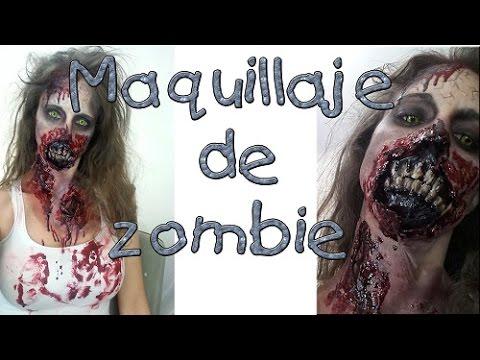 Walking Dead Tutorial - Maquillaje de zombie o muertos vivos
