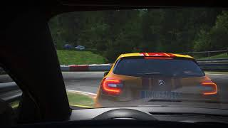 Project CARS / Renault Megane RS VS Mercedes A45 AMG