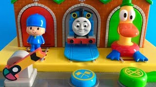 Pocoyo with Thomas and Friends