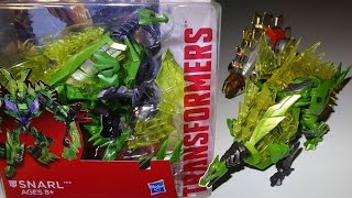 Opening: Dinobot SNARL - Transformers Generations Deluxe Class