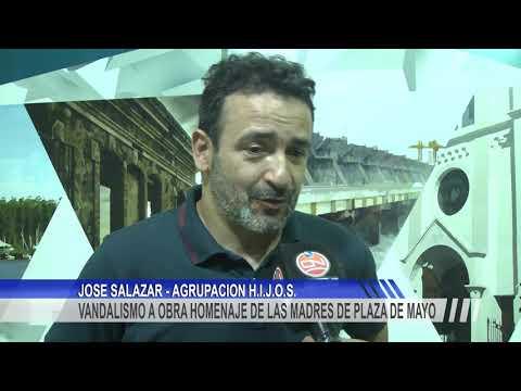 Repudio por el vandalismo a la obra homenaje de las madres de Plaza de Mayo