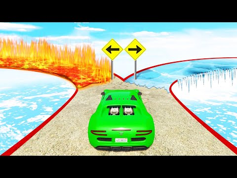 You Will Only Survive ONE Way! (GTA 5 Funny Moments)