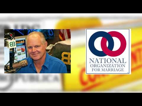 Rush Limbaugh on the IRS Leak of NOM's Tax Returns
