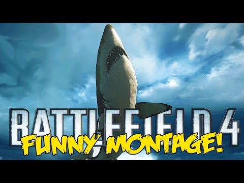 Battlefield 4 Naval Strike Funny Montage! - MEGALODON is OP , Titanic moment  (BF4 funny moments)