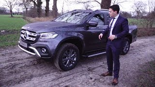 2018 Mercedes X Class X250d - Full Drive Review NEW Pick Up 4MATIC