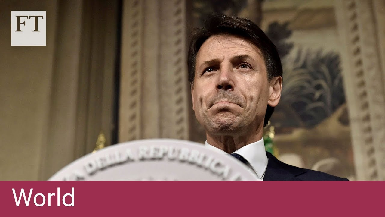 Italy's PM-designate Conte submits ministers' names to president
