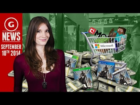 Is Microsoft Buying Minecraft?! & Xbox One Bombs In Japan - GS Daily news