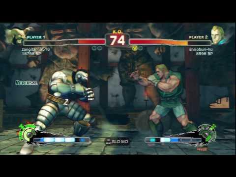 SSFIV Online: Zangitan (Zangief) vs shiroburi-hu (Abel) TRUE-HD QUALITY