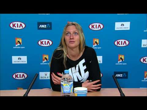 Petra Kvitova press conference (3R) - Australian Open 2015