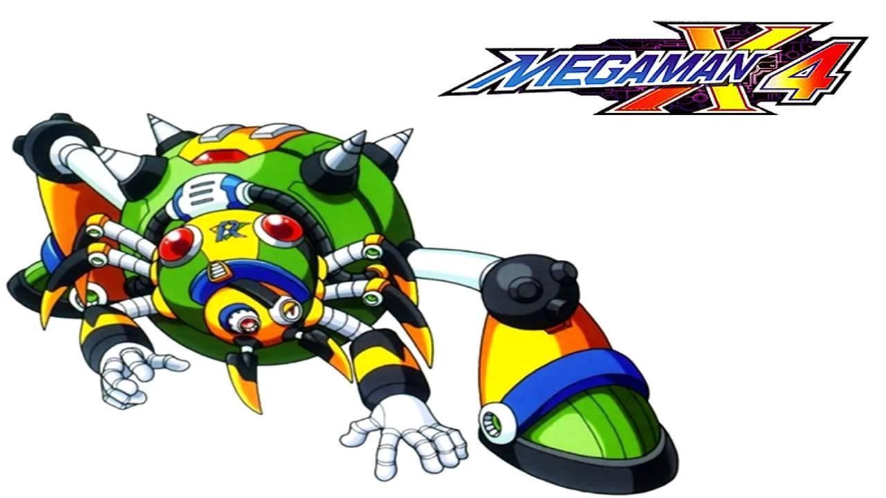 Web Spider Megaman Mega Man x4 Web Spider Stage