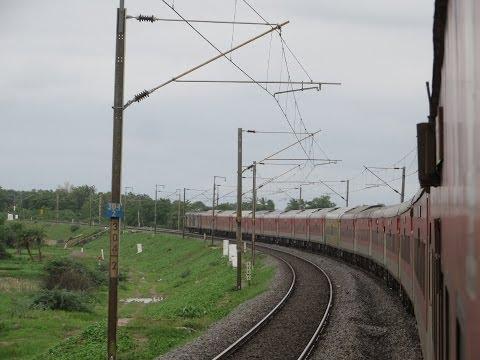 Chennai Rajdhani Express Full Journey Compilation III: Warangal-Balharshah