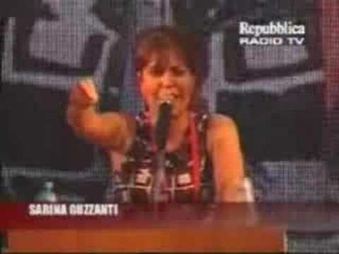guzzanti su carfagna – no cav day – roma – 8/7/2008