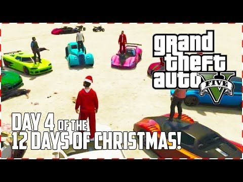GTA 5 Online – Santa Claus Fight Club! (Day 4 of 12) (GTA V)