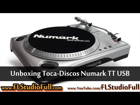 Unboxing Toca-Discos Numark TT USB [FL Studio Full]