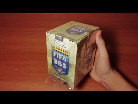 "BOX OPENING 1/10 ""FIFA 365 (2019) Panini"" { } Распаковка 5-и пачек FIFA 365 2019 из блока"