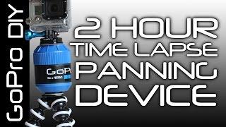 DIY 2h Time Lapse Panning device - GoPro DIY#16