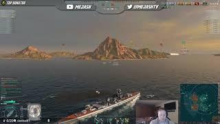 World of Warships: Aoba joins the 9 kill club!