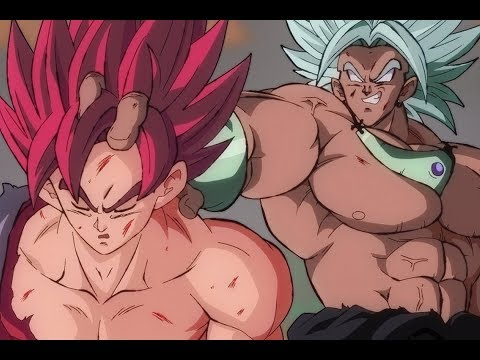 Evil Goku Vs. Broly video
