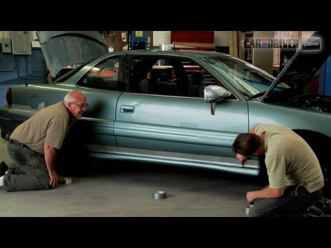 Saturday Mechanic - How To Fix a Car With Duct Tape