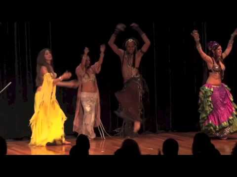 Sadie David Frank & Friends 2013 Hawaii Belly Dance Convention...