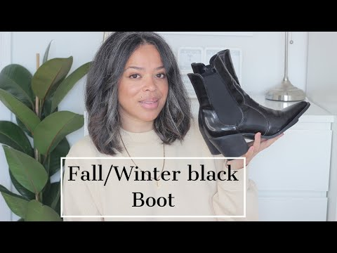 FALL/WINTER BLACK BOOT COLLECTION + 2 NEW ONES