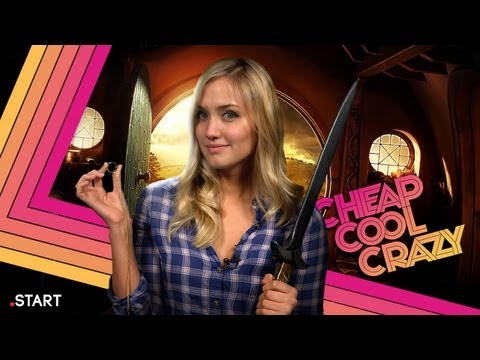 Cheap Cool Crazy - The Hobbit Episode feat. Prop Replicas, Swords, and a Hobbit House You Can Buy!