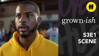 grown-ish Season 3 Premiere | Zoey & Aaron Talk About That Kiss | Freeform